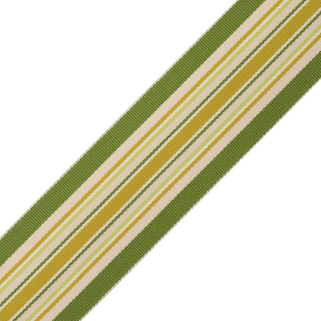 CORD WITH TAPE - SAISONS STRIPE BORDER - 06