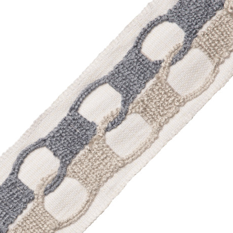 CORD WITH TAPE - AYR BOUCLE BORDER - 03