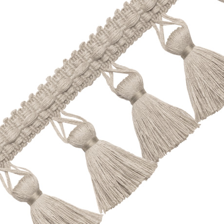 BORDERS/TAPES - BALI LINEN TASSEL FRINGE - 01