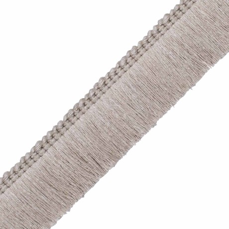 "BORDERS/TAPES - BALI LINEN 1.5"" BRUSH FRINGE - 01"