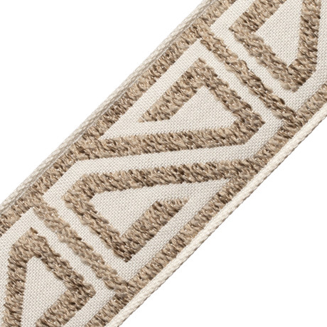 TASSEL/BALL FRINGE - AYANA BOUCLE BORDER - 01