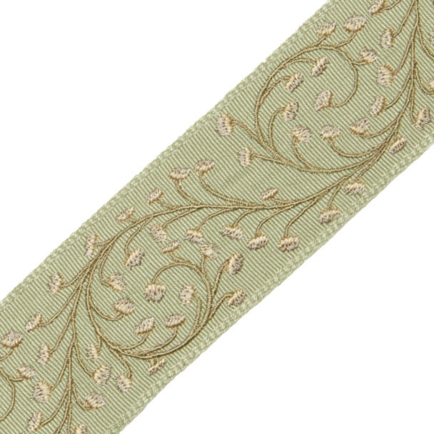 "BORDERS/TAPES - 2"" ELLA EMBROIDERED BORDER - 15"