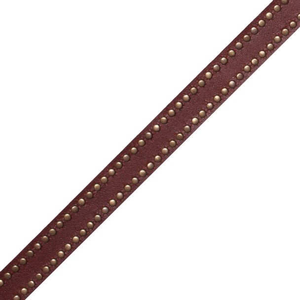 BORDERS/TAPES - TOSCANA MICROSTUD EDGED LEATHER - 212