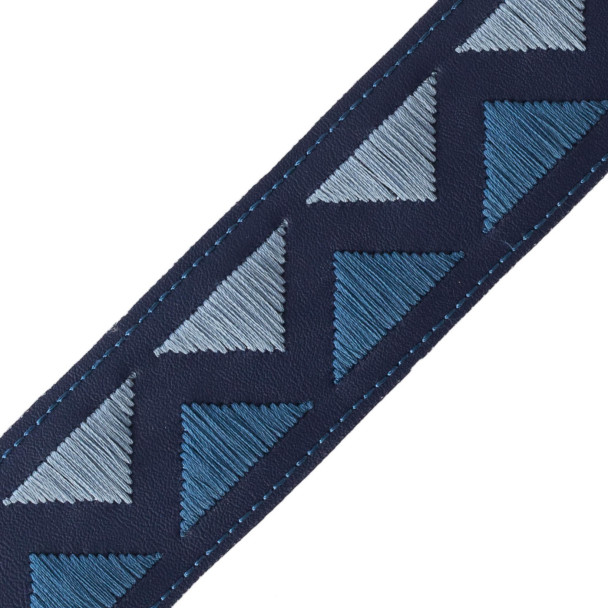 BORDERS/TAPES - PYRAMID EMBROIDERED BORDER - 10