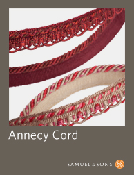 Annecy Cord I Sample Book