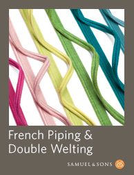 French Piping & Dble Welt Book