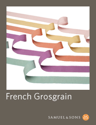 French Grosgrain Sample Folder