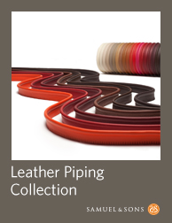 Leather Piping Sample Book